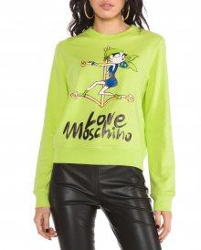 Mikina Love Moschino | Zelená | Dámské | XS