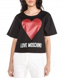 Triko Love Moschino   Černá   Dámské   XS