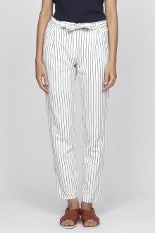 Kalhoty GANT O2. STRIPED LINEN PANTS