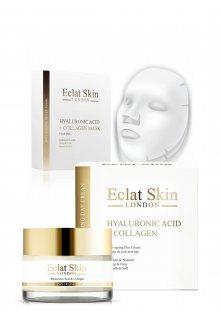 Eclat Skin Luxusní sada - krém a 3 textilní masky\n\n