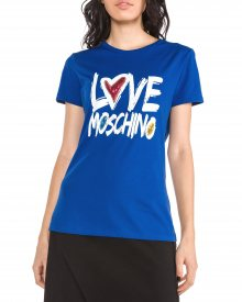 Triko Love Moschino | Modrá | Dámské | M