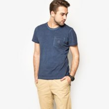 Confront Tričko Capitol Muži Oblečení Trička Cfv16Tsm04001 Muži Oblečení Trička Tmavomodrá US M