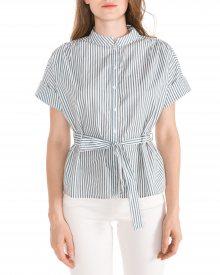 Natasha Košile Vero Moda | Modrá Bílá | Dámské | XL