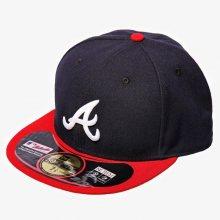 New Era Čepice Mlb Authentic Atlanta Braves Muži Doplňky Kšiltovky 10010240 Muži Doplňky Kšiltovky Tmavomodrá US 7 3/8