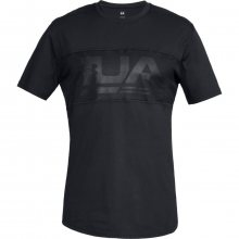 Under Armour Unstoppable Graphic Mesh Ss T černá S