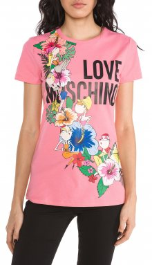 Triko Love Moschino   Růžová   Dámské   XS