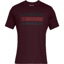 Under Armour Team Issue Wordmark Ss vínová S