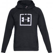 Under Armour Rival Fleece Logo Hoodie černá S