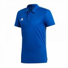 Modrá sportovní polokošile od Adidas Velikost: S