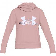Under Armour Fleece Sportstyle Hoodie růžová XS