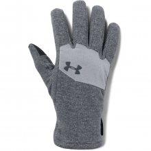 Under Armour Survivor Fleece Glove 2.0 šedá S