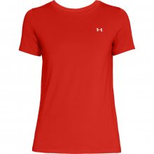 Under Armour HG Crew Neck SL červená XS