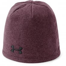 Under Armour Mens Survivor Fleece Beanie vínová 56-60