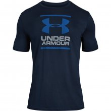 Under Armour Gl Foundation Ss T modrá S