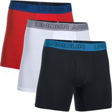 Under Armour Charged Cotton 6In 3Pk černá S