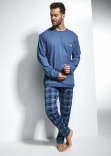 Cornette Varsity 115/120 Pánské pyžamo XXL modrá