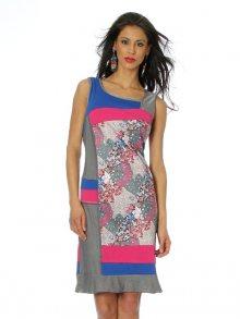 Squise Dámské šaty RC1409 ROBE C ROYAL\n\n
