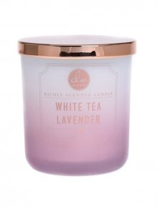 DW home Vonná svíčka ve skle Bílý Čaj a Levandule_9oz\n\n