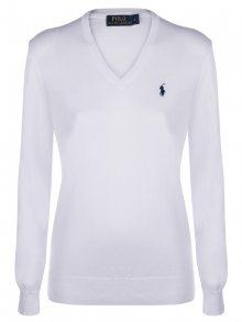 Bílo-černý prémiový svetr od Ralph Lauren Velikost: XS