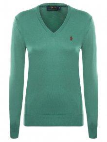 Zelený prémiový svetr od Ralph Lauren Velikost: M