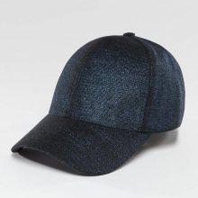 Snapback modrá tmavá Standardní