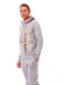 Trussardi Collection Pánská mikina + tepláky U41TRC7007_Gri Md/Md Grey\n\n