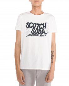 Triko Scotch & Soda | Bílá | Pánské | L