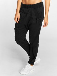 Sweat Pant Chin in black L