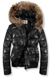 Černá krátká bunda