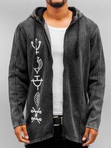 Mikina Symbols šedá tmavá M