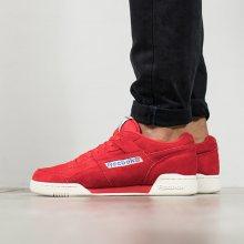 Boty - Reebok Classic | BORDÓ, CZERWONY | 43 - PÁNSKÉ BOTY sneakers Reebok Workout Plus Vintage BD3383