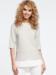 Made of Emotion Dámská halenka m290-lightgrey\n					\n