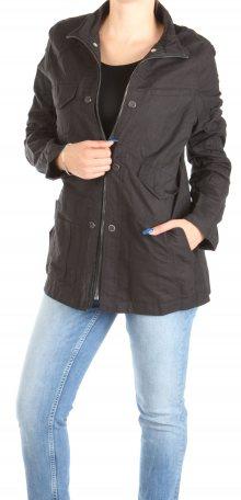 Pánská černá podzimní bunda Desigual
