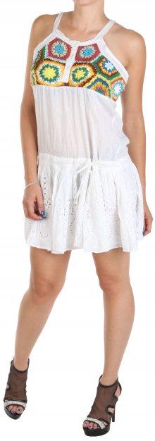 Dámské bílé šaty Desigual