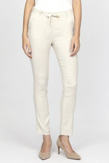 Kalhoty GANT O2. LINEN PANTS