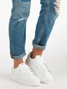 Stylové bílé tenisky od značky Fila