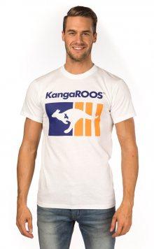 Kangaroos Pánské tričko T8199_aw15 bílá\n\n