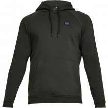 Under Armour Rival Fleece Po Hoodie zelená XS