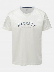 Bílé classic fit tričko Hackett London