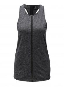 Tmavě šedé dámské funkční tílko Nike Tank Cool Shine
