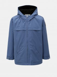 Modrá klučičí voděodolná bunda s kapucí Quiksilver
