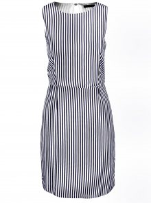 Bílo-modré pruhované šaty ONLY Nova Caroline