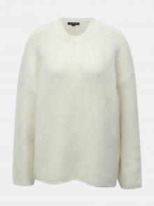 Krémový svetr s příměsí vlny Selected Femme Fregina