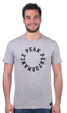 Peak Performance Pánské tričko_šedá\n\n