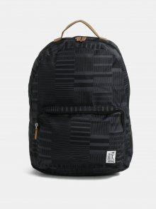 Černý vzorovaný batoh The Pack Society 18 l