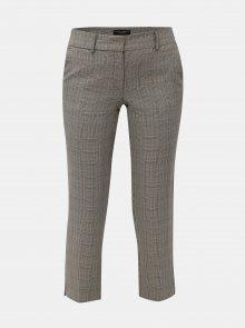 Béžovo-šedé kárované kalhoty Dorothy Perkins