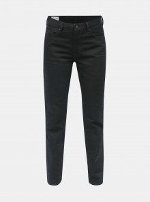 Tmavě modré dámské slim džíny s vysokým pasem Kings of Indigo Kimberly