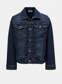 Tmavě modrá klučičí džínová bunda Name it