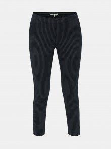 Tmavě modré vzorované zkrácené kalhoty ONLY Aster