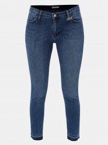 Modré zkrácené skinny džíny s nezakončeným lemem Rich & Royal